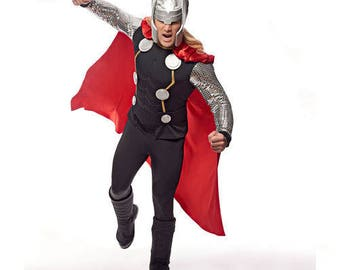 Marvel's Avenger Thor Simplicity Pattern 1038 Size 3-8 Boys/Small-X-Large Men's OUT OF PRINT