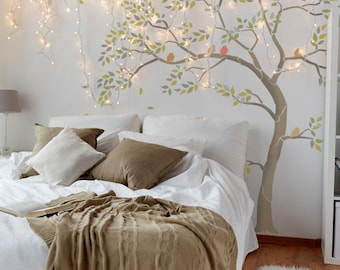 Tree Stencil Pack - Create a unique wall mural with stencils, paint it any colour you like. Two trees in one, great value!