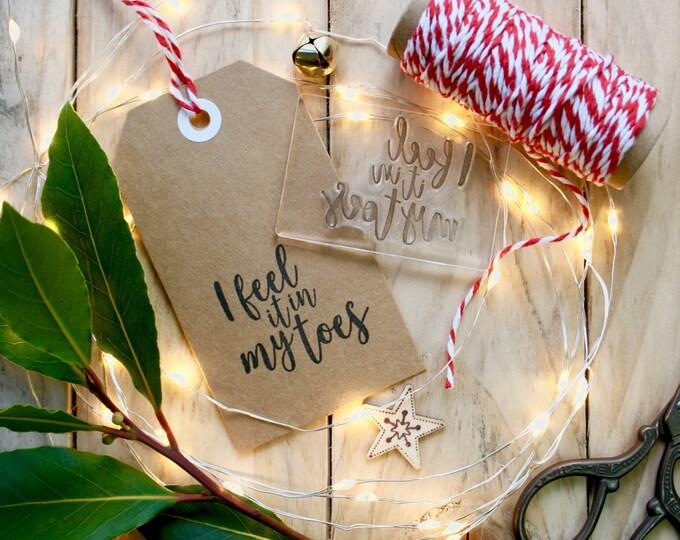 Christmas Song Stamp