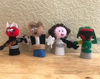 Star Wars Finger Puppet Set #3