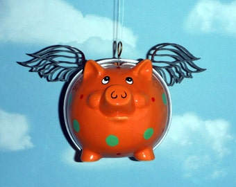 When Pigs Fly, Flying Pig, Orange