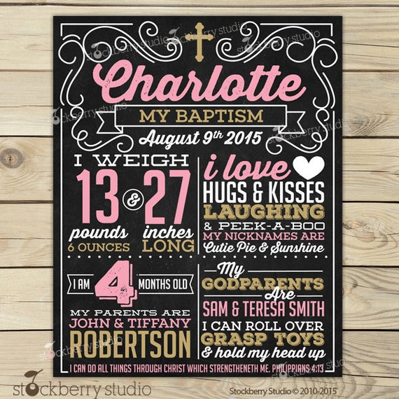 how to create a chalkboard poster