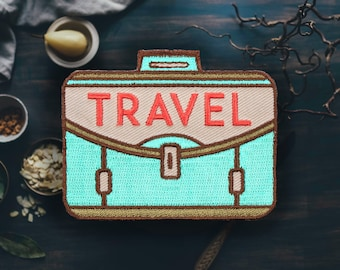 """Travel Suitcase Patch 