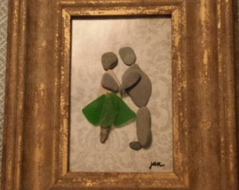 Pebble Art - Can I Have This Dance?