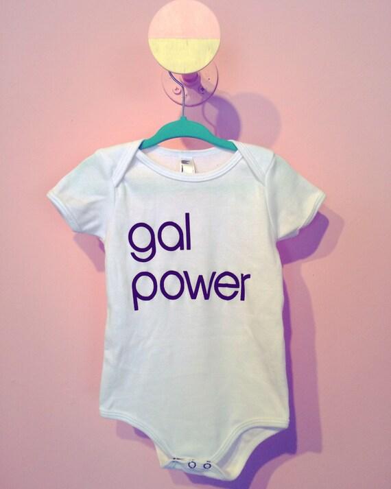 Gal Power onesie