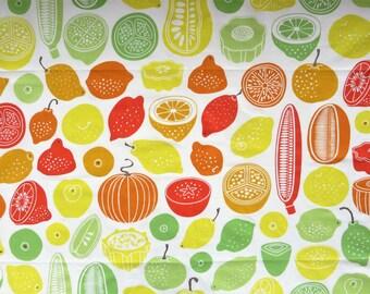 "Ikea Marienta cotton fabric 56 x 58"" (2)"