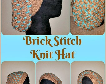 The BRICK STITCH Knit Hat (Made-to-Order)