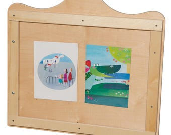 Art Display, Kids Art Display, Kids Artwork Display, Scalloped Wall Display for Artwork