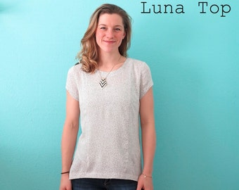 Luna Top PDF Sewing Pattern