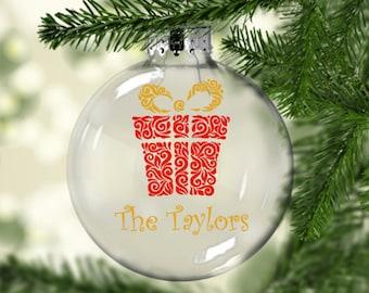 Custom Ornament, Christmas, Holiday