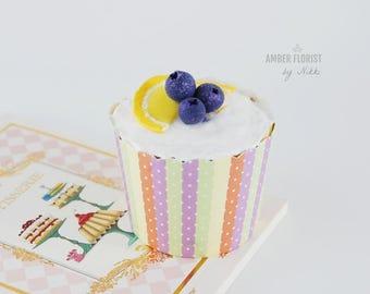 Fake food,Fake Cupcake Realistic Cupcake Forever cupcakes Faux CupcakeDisplay Dessert Display Cupcake Gifts Under 10,gift for her