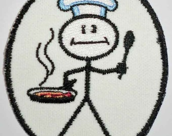 Iron-On Patch - CHEF