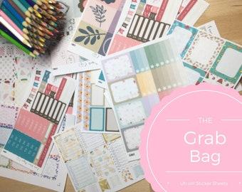 Grab Bag of Stickers - Erin Condren - Happy Planner - Samples