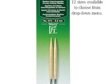 Takumi Interchangeable Knitting Needle Tips. New Clover Brand Item for our shop!