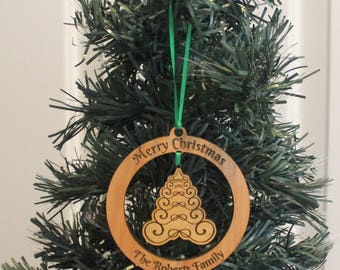 Keepsake Ornament - Victorian Christmas Tree