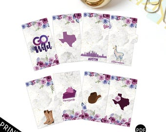 GO WILD Official Personal Planner Dividers