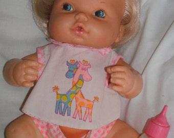 """70's Mattel HUSH Lil BABY Batt Op Loose 13"""" Doll"""