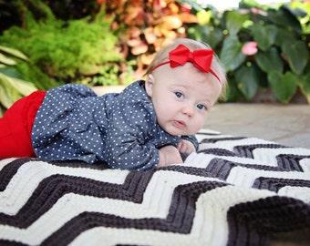 Chevron Baby Afghan