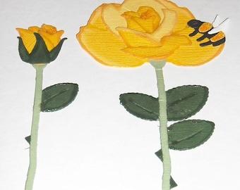 Yellow Rose of Texas- 3 piece set