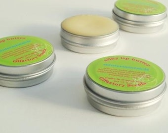 WINTERMINTSICLE- Silky Lip Butter-  all-natural lip balm with lanolin