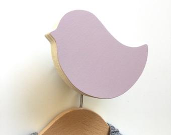 Purple bird hook