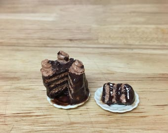 Chocolate Cake 1:12 scale