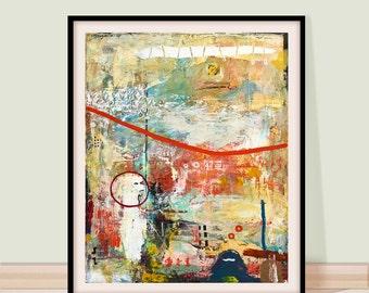 Abstract, painting, Abstract art, landscape ,print, Modern Art, Fine Art Prints , Wall Decor, Art Print, Large Abstract,wall art,wall decor