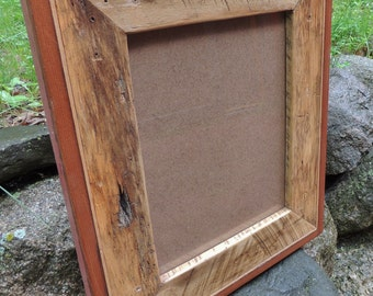 11 x 14 Reclaimed Wood Picture Frame - Rustic Home - Frames - Housewares - Rusticbilt -  11 x 14 Photo - Wedding Gift