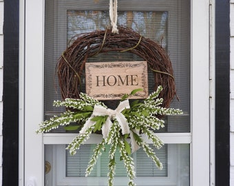 Grapevine Home Wreath