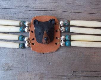 Black Bear Plains Indian Style Choker