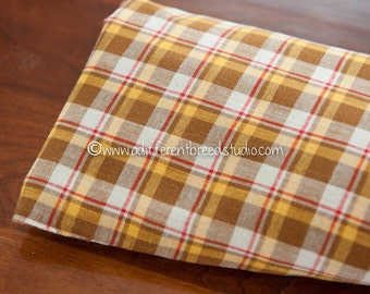 Mad About Plaid - Vintage Fabric Multi-Colored Checked 31 in wide 40s 50s
