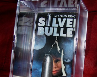 SilverBullet 80's horror (inspired by) display..ready to ship...