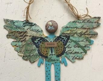 Butterfly Blue Angel