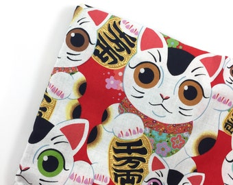 Lucky Cats Organic Catnip Mat Toy By For Mew, Refillable, Washable, Cat Bed, Cat Furniture, Gift For Cat Lovers, Neko