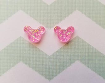 Different Colors Mickey Mouse Earrings
