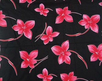 Indian Pure Cotton Floral Printed Fabric Decorative Fabric For Sewing Dressmaking Material Apparel Upholstery Fabric By 1 Yard ZBC6129