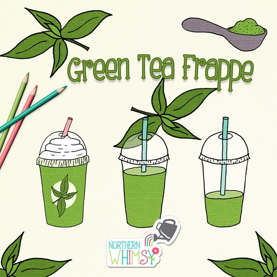 Green tea frappe clip art summer clipart with iced drinks and tea green tea frappe clip art summer clipart with iced drinks and tea leaves hand drawn drink illustrations commercial use cu ok from northernwhimsydesign thecheapjerseys Image collections