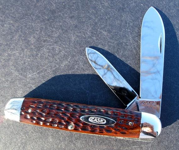 Unused Mint Case XX Red Bone Big Cigar 6294 Original edge no scratches no cracks. You won't find a nicer 94