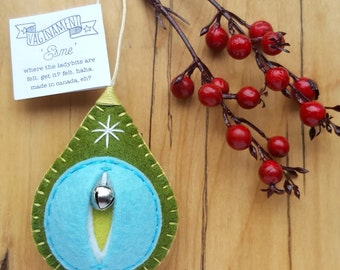 Vaginament® ornaments FTW! Esme, the woodland nymph vagina ornament vulva Christmas bauble {Size 3 Esme}