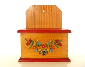 Polish Folk Wooden Box.