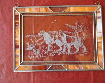 Brittany- Beautifully hand engraved panel by Ingrid Jonsson.