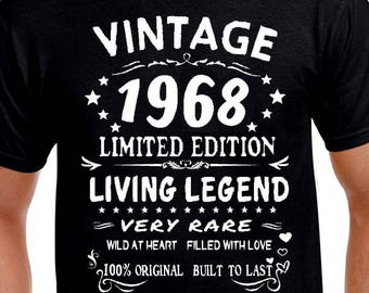 50th Birthday Gift T Shirt Funny Present Age 50 Years Old Born