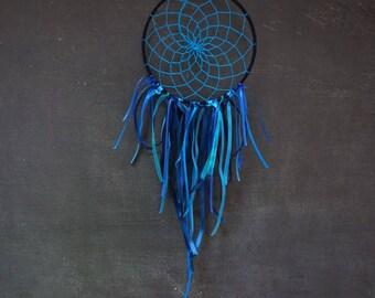 Handmade blue dream catcher