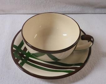 Vernon Kilns Teacup Bel Air Teacup and Saucer