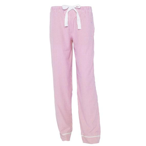 Pink Seersucker Lounge Pants!
