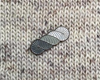 Soft Skein Enamel Pin