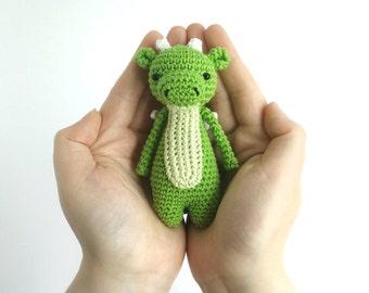 Mini Dragon Crochet Amigurumi Pattern