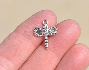 1  Silver Dragonfly Charm SC1263