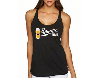 It's Mueller Time Ladies Tank Top - Resistance Gear - Resist