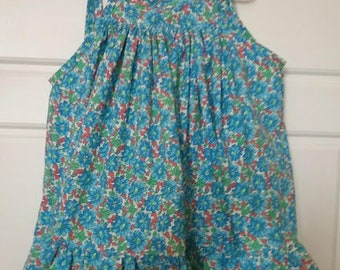 Little girl's London Sundress, size 4